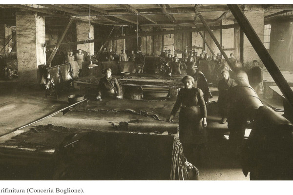 Conceria Boglione - lavori di rifinitura