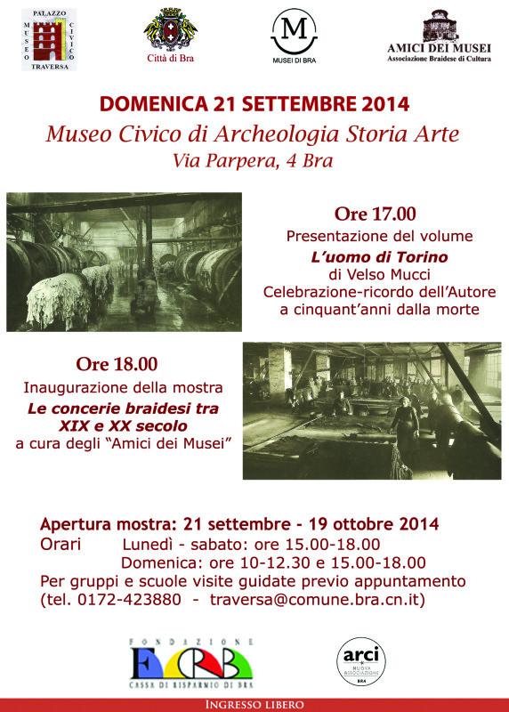 Locandina 21.09.2014 - Mucci e mostra concerie